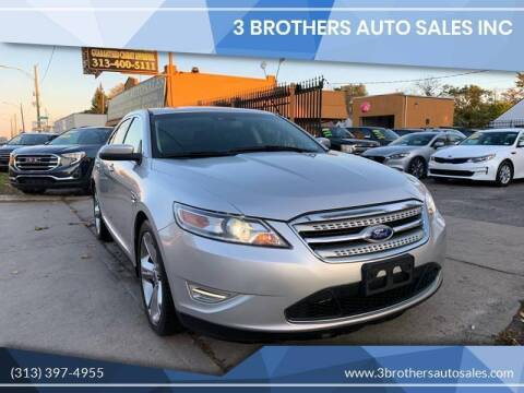 2012 Ford Taurus for sale at 3 Brothers Auto Sales Inc in Detroit MI