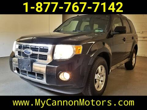 2009 Ford Escape for sale at Cannon Motors in Silverdale PA