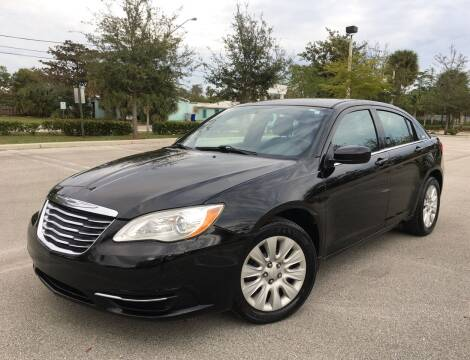 2012 Chrysler 200 for sale at FIRST FLORIDA MOTOR SPORTS in Pompano Beach FL