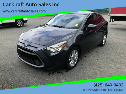 2016 Scion iA for sale at Car Craft Auto Sales Inc in Lynnwood WA