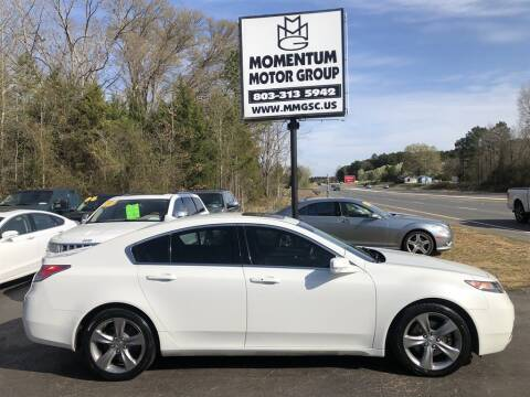 2013 Acura TL for sale at Momentum Motor Group in Lancaster SC