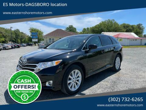 2011 Toyota Venza for sale at ES Motors-DAGSBORO location in Dagsboro DE