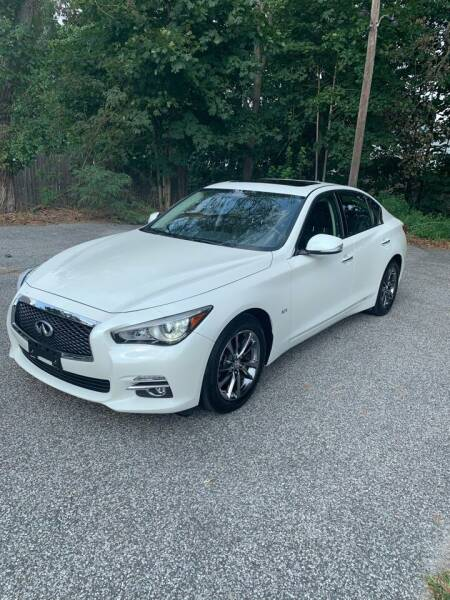 2017 Infiniti Q50 for sale at Long Island Exotics in Holbrook NY