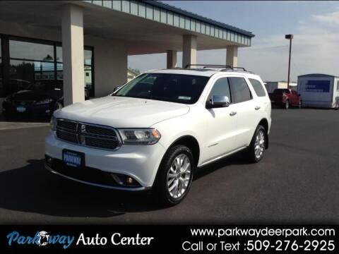 2015 Dodge Durango for sale at PARKWAY AUTO CENTER AND RV in Deer Park WA