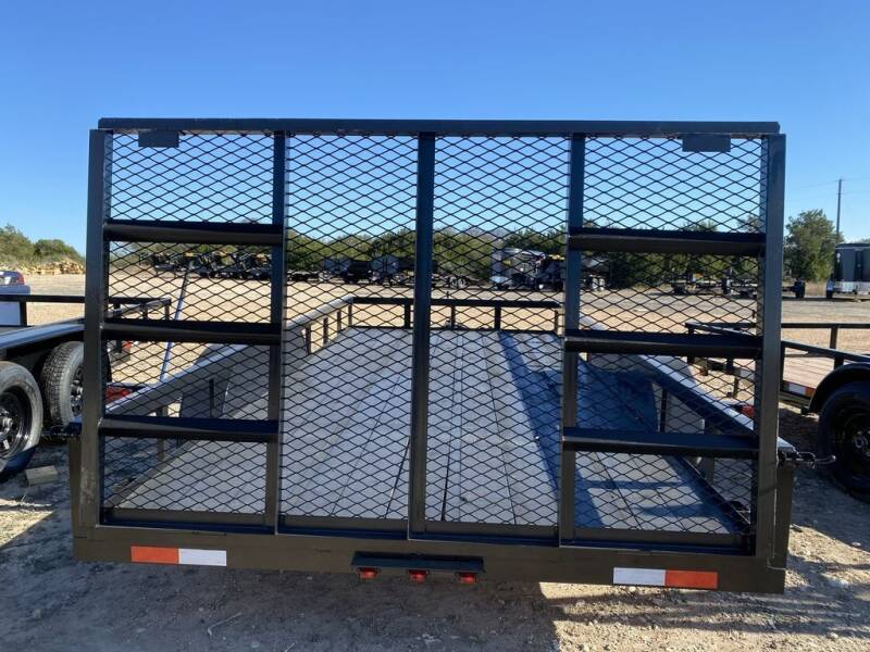 2021 P & C  - Utility 77'x16' - In &  for sale at LJD Sales in Lampasas TX