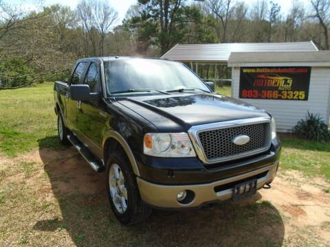 2006 Ford F-150 for sale at Hot Deals Auto LLC in Rock Hill SC