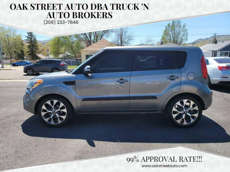 2012 Kia Soul for sale at Oak Street Auto DBA Truck 'N Auto Brokers in Pocatello ID