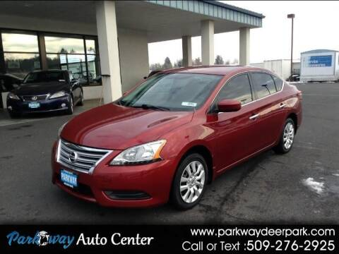 2015 Nissan Sentra for sale at PARKWAY AUTO CENTER AND RV in Deer Park WA