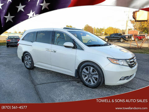 2014 Honda Odyssey for sale at Towell & Sons Auto Sales in Manila AR