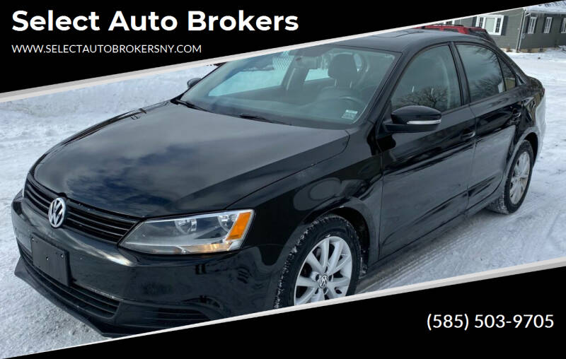 2012 Volkswagen Jetta for sale at Select Auto Brokers in Webster NY