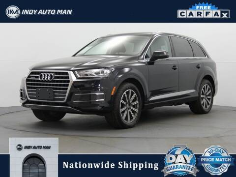 2017 Audi Q7 for sale at INDY AUTO MAN in Indianapolis IN