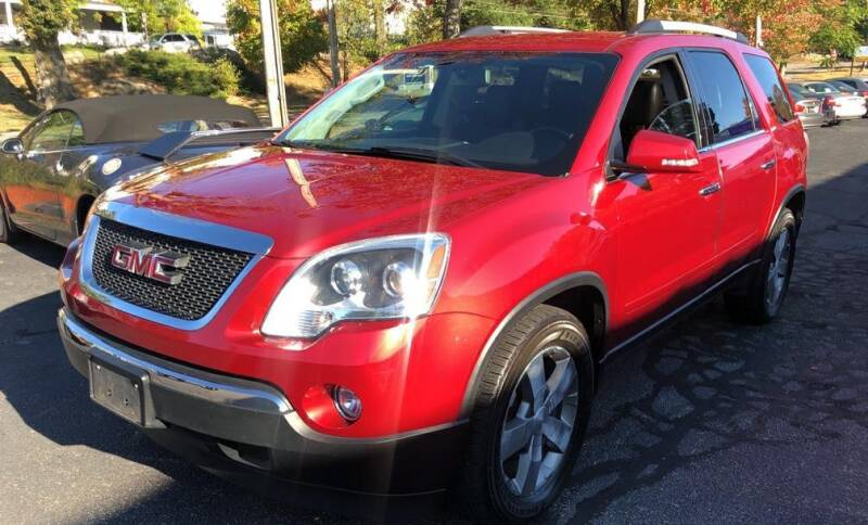 2012 GMC Acadia for sale at Premier Automart in Milford MA