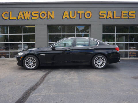 2011 BMW 5 Series for sale at Clawson Auto Sales in Clawson MI
