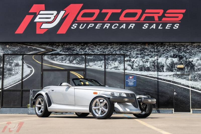 2001 Plymouth Prowler for sale at BJ Motors in Tomball TX