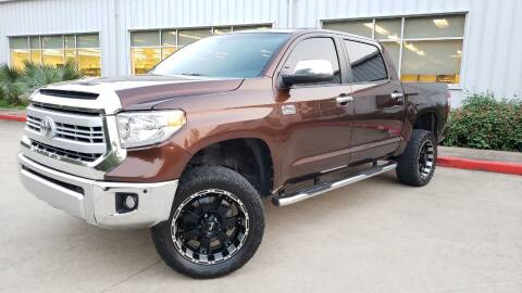 2014 Toyota Tundra for sale at Houston Auto Preowned in Houston TX