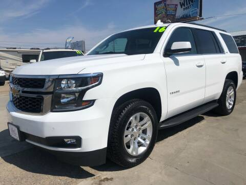 2016 Chevrolet Tahoe for sale at MAGIC AUTO SALES, LLC in Nampa ID