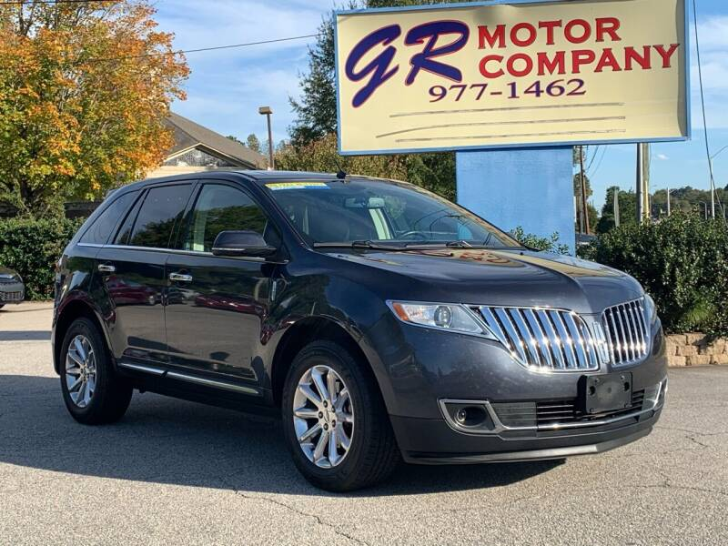 2014 Lincoln MKX for sale at GR Motor Company in Garner NC