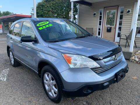 2007 Honda CR-V for sale at G & G Auto Sales in Steubenville OH