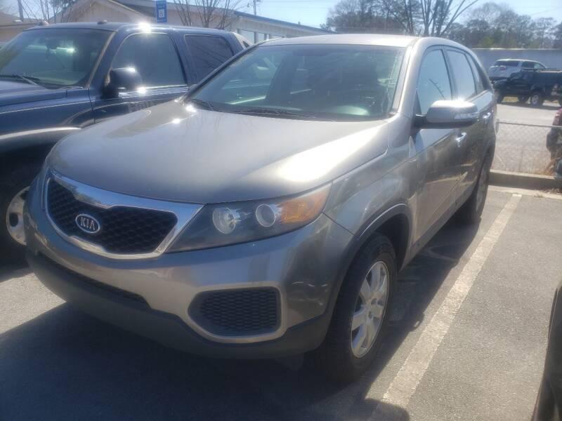 2013 Kia Sorento for sale at Credit Cars LLC in Lawrenceville GA