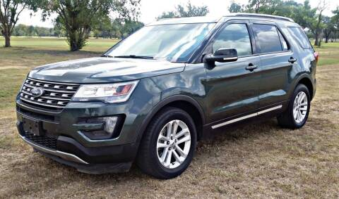 2016 Ford Explorer for sale at H & H AUTO SALES in San Antonio TX