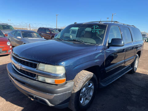 2004 Chevrolet Suburban for sale at PYRAMID MOTORS - Fountain Lot in Fountain CO