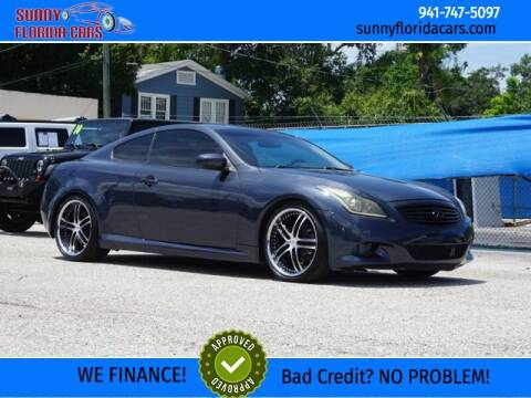 2012 Infiniti G37 Coupe for sale at Sunny Florida Cars in Bradenton FL