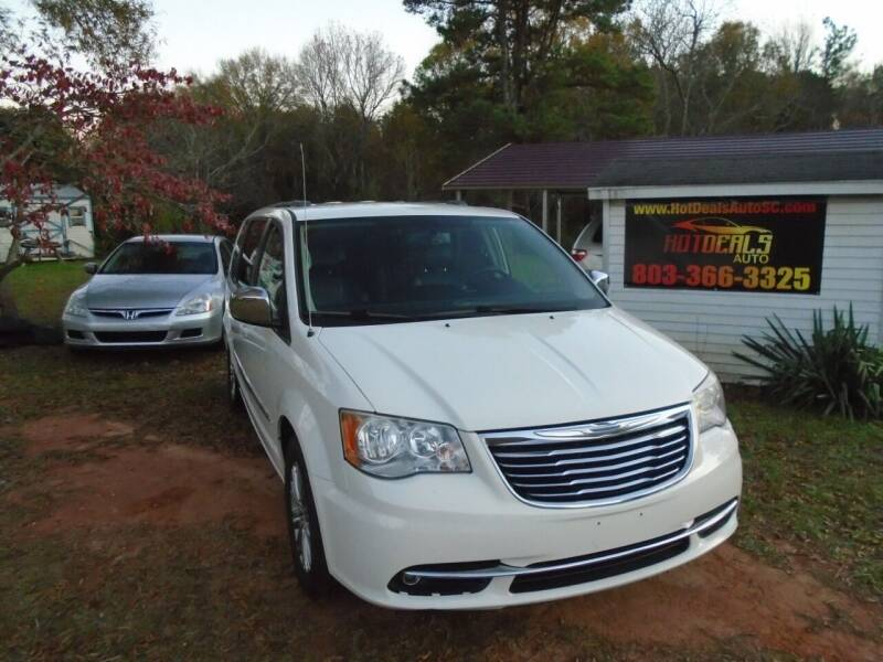 2013 Chrysler Town and Country for sale at Hot Deals Auto LLC in Rock Hill SC