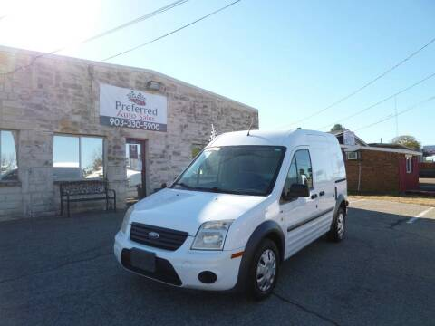 2010 Ford Transit Connect for sale at Preferred Auto Sales in Tyler TX