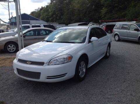 2012 Chevrolet Impala for sale at GIB'S AUTO SALES in Tahlequah OK