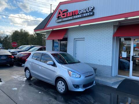 2015 Mitsubishi Mirage for sale at AG AUTOGROUP in Vineland NJ