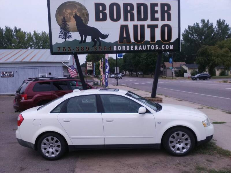 2004 Audi A4 for sale at Border Auto of Princeton in Princeton MN