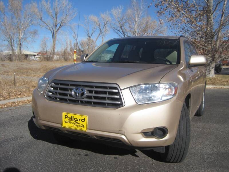 2010 Toyota Highlander for sale at Pollard Brothers Motors in Montrose CO