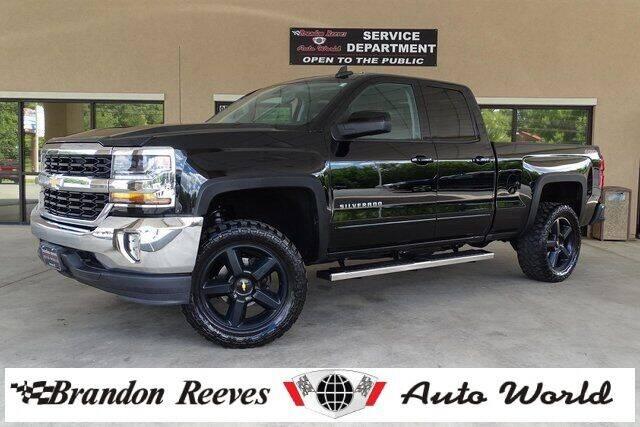 2016 Chevrolet Silverado 1500 for sale at Brandon Reeves Auto World in Monroe NC