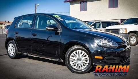 2012 Volkswagen Golf for sale at Rahimi Automotive Group in Yuma AZ