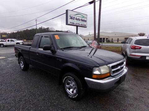 2000 Ford Ranger for sale at J & D Auto Sales in Dalton GA