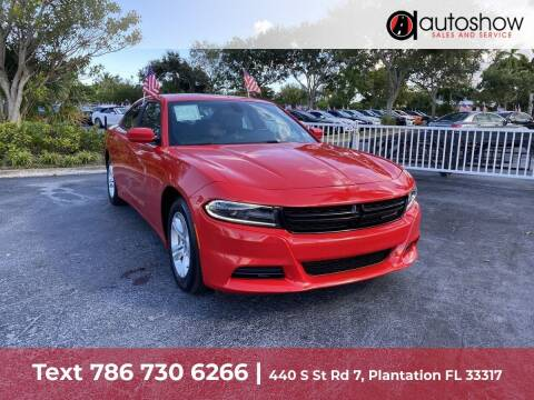 2020 Dodge Charger for sale at AUTOSHOW SALES & SERVICE in Plantation FL