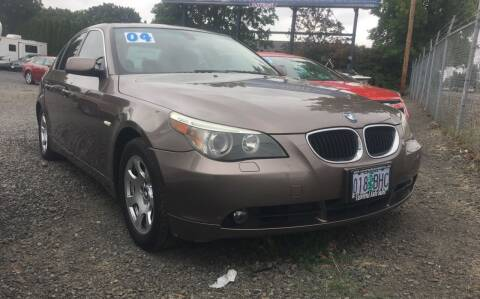 2004 BMW 5 Series for sale at Universal Auto INC in Salem OR