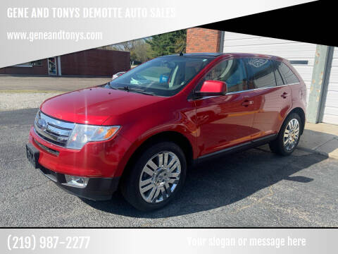 2010 Ford Edge for sale at GENE AND TONYS DEMOTTE AUTO SALES in Demotte IN