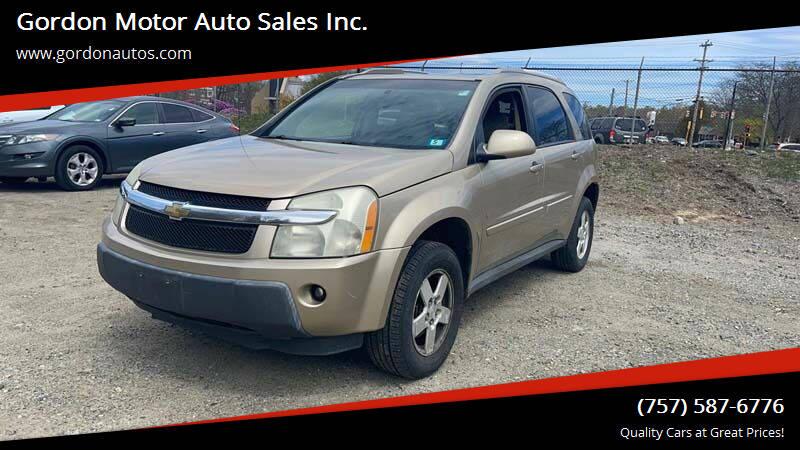 2006 Chevrolet Equinox for sale at Gordon Motor Auto Sales Inc. in Norfolk VA