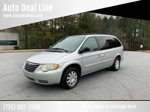 2006 Chrysler Town and Country for sale at Auto Deal Line in Alpharetta GA