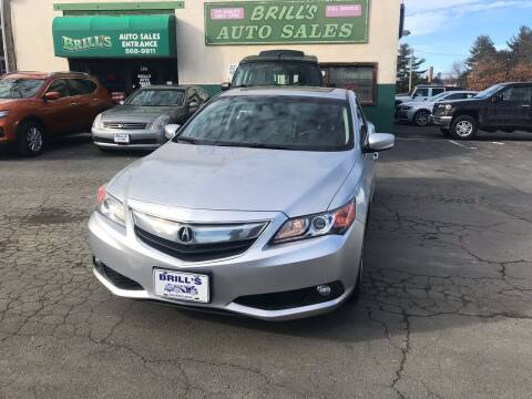 2013 Acura ILX for sale at Brill's Auto Sales in Westfield MA