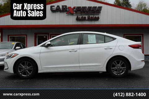 2017 Hyundai Elantra for sale at Car Xpress Auto Sales in Pittsburgh PA