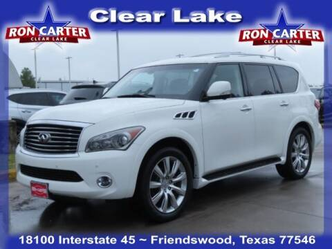 2013 Infiniti QX56 for sale at Ron Carter  Clear Lake Used Cars in Houston TX