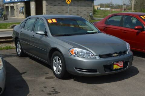 2008 Chevrolet Impala for sale at Performance Motor Cars in Washington Court House OH