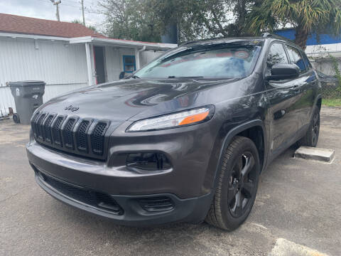 2017 Jeep Cherokee for sale at Bargain Auto Sales in West Palm Beach FL