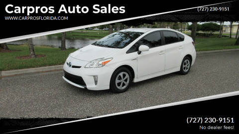 2015 Toyota Prius for sale at Carpros Auto Sales in Largo FL