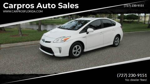 2015 Toyota Prius for sale at Carpros Auto Sales in Largo FL