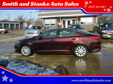 2015 Kia Optima for sale at Smith and Stanke Auto Sales in Sturgis MI