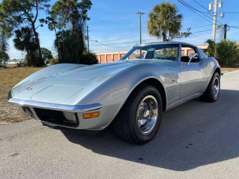 1971 Chevrolet Corvette C3 Stingray for sale at American Classics Autotrader LLC in Pompano Beach FL