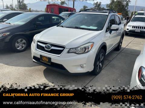 2014 Subaru XV Crosstrek for sale at CALIFORNIA AUTO FINANCE GROUP in Fontana CA